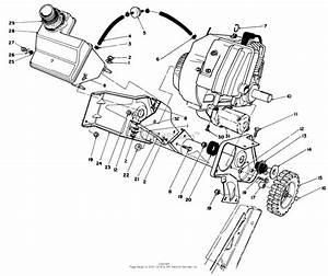 Toro 38186  Ccr 2000 Snowthrower  1993  Sn 3900001
