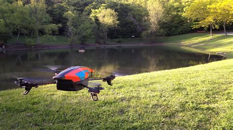 review parrot ar drone  youtube