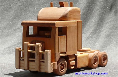 diy wooden toy truck plans
