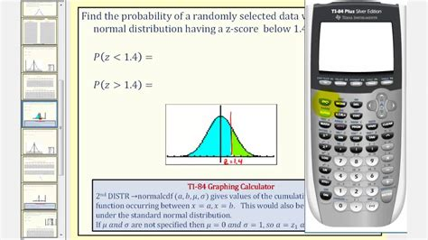 normal distribution find probability    scores   ti youtube