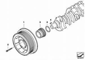 Original Parts For E66 730ld M57n2 Sedan    Engine   Belt