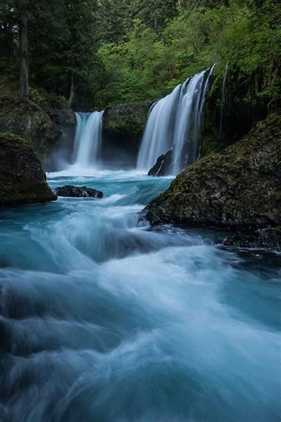 Nature Waterfall Scenery Stunning 500px Waterfalls Landscape