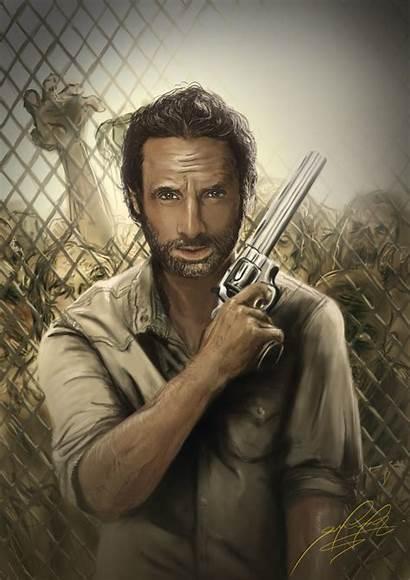 Rick Grimes Season Dead Walking 4k Yodobi