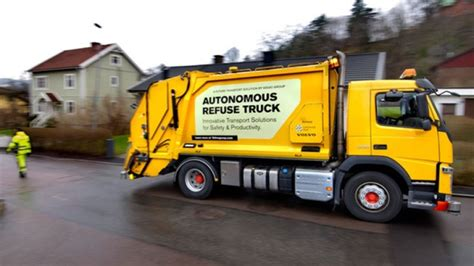 volvo group trucks technology volvo testing out autonomous garbage truck ctv news autos
