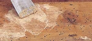 reboucher trou fissure meuble en bois comment reboucher With reboucher trou parquet