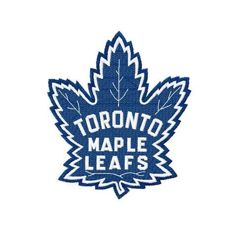 toronto maple leafs embroidery design instant download