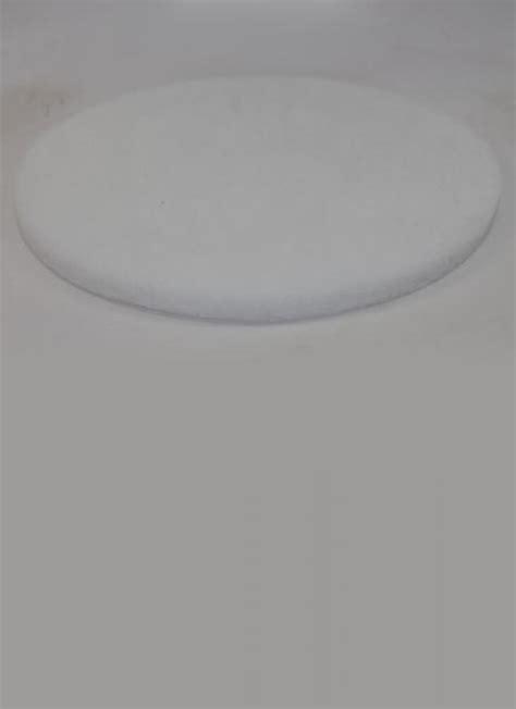 hardwood floor buffing chicago norton abrasives 17 inch white gloss buffing pad