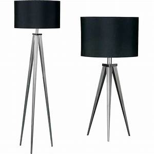 how to implement tripod floor lamps into your house With floor lamp tall chrome tripod lamp