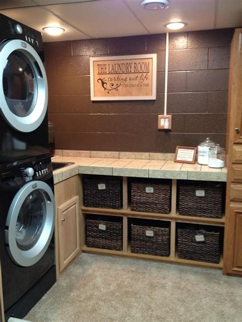 Idea For Small Kitchen - laundry room makeover ideas for your mobile home ikea decora