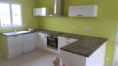 cuisine vert pomme couleurs de mon rdc salon cuisine