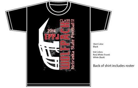 high school football tshirt designs elgin schools 2014 state football playoff shirts