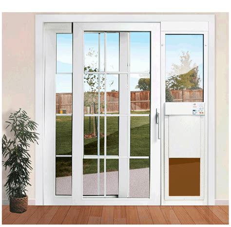 px se series power pet fully automatic patio pet doors
