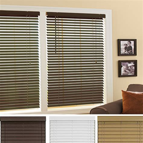 Wood Mini Blinds Colors Option ? Home Ideas Collection