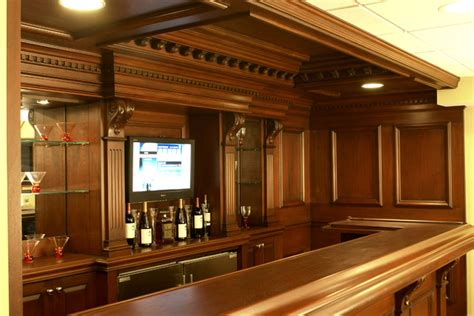 Residential Bars by Custom Residential Bar Traditional Home Bar Newark