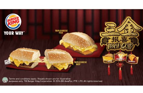 Burger King New Menu  Triple Cheese Beef & Triple Cheese