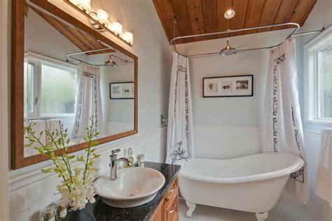 fantastic clawfoot tub shower curtain ideas decorating