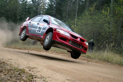 Mitsubishi, lancer, jumping, rally, vehicles, racing ...