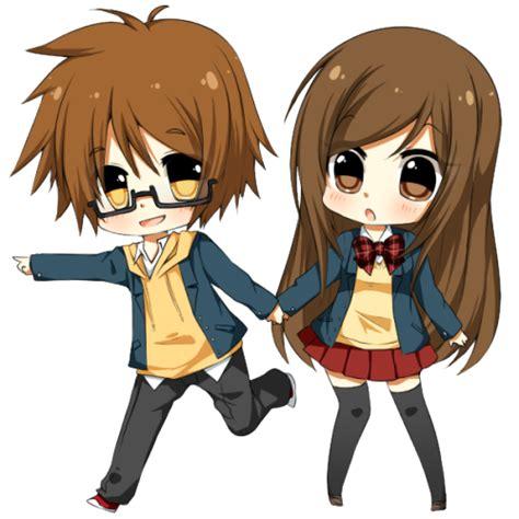 anime couple cute chibi chibi couple on tumblr