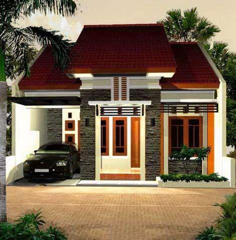 desain rumah minimalis satu lantai  gambar model