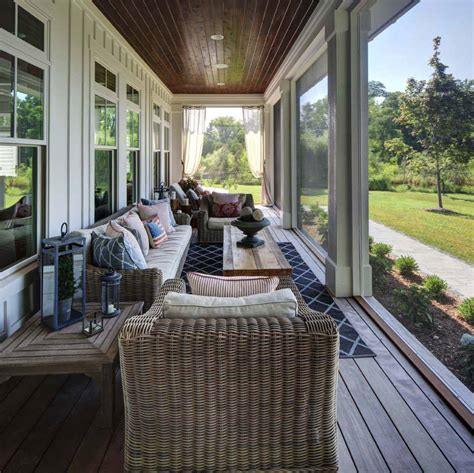 Screen Porch Material by 38 Amazingly Cozy And Relaxing Screened Porch Design Ideas