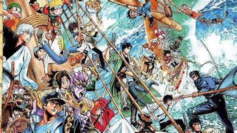 Anime Crossover Wallpaper Hd - crossover shonen jump hd wallpaper background 1277