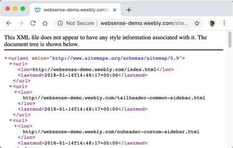 How Create Xml Sitemap For Weebly Site Webnots