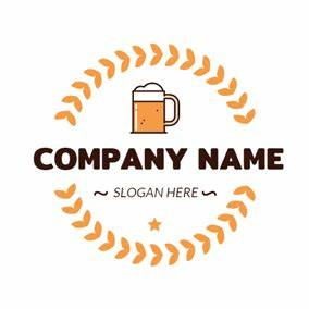 free food drink logo designs designevo logo maker With beer logo maker