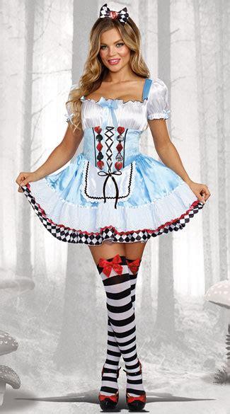 Beyond Wonderland Costume Down the Rabbit Hole Costume - Yandy.com