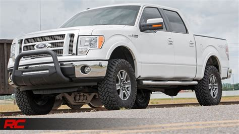 2009 2013 Ford F 150 3 inch Bolt On Suspension Lift Kit by