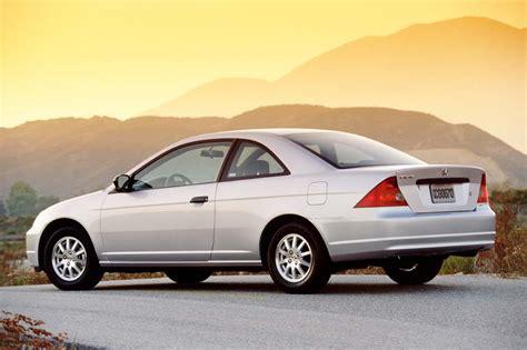 civic honda coupe 2001 2002 door hx consumerguide
