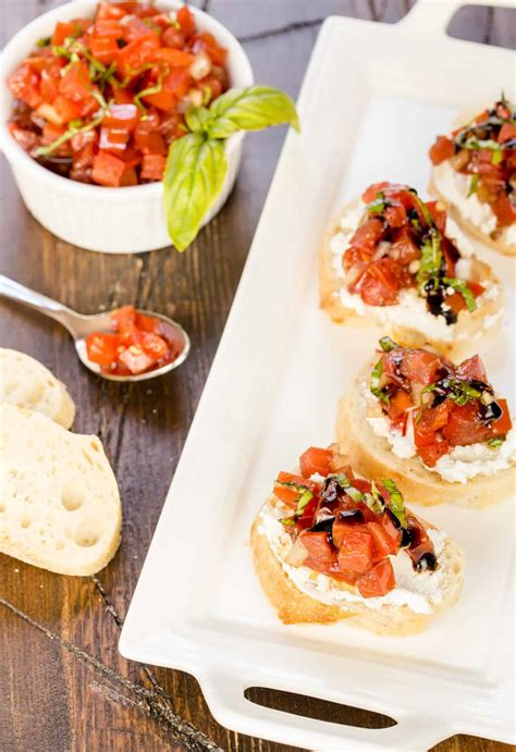 10 easy appetizer recipes using baguettes garnish with lemon