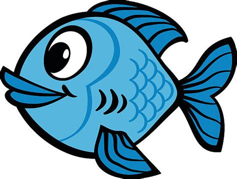 Royalty Free Cartoon Fish Clip Art, Vector Images