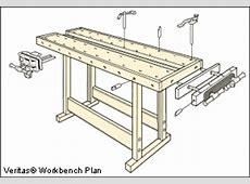 Veritas® Bench Plans Lee Valley Tools