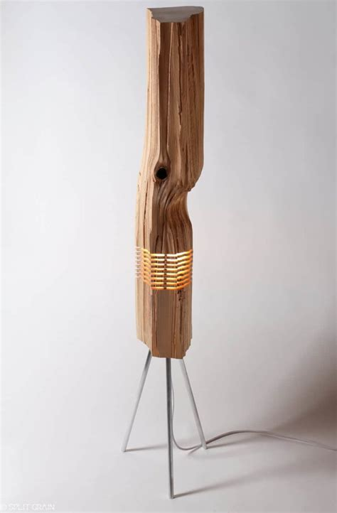 beautiful light sculptures   california cedar wood