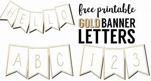 free printable banner letters templates paper trail design With print letters for banner