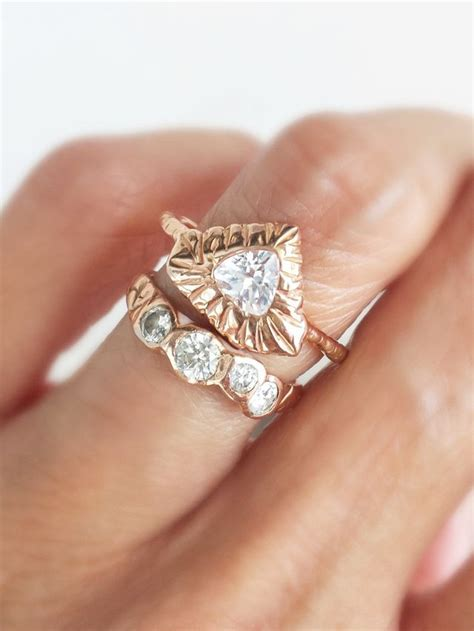 how are engagement and wedding rings worn why you don t have to be engaged to wear a diamond ring