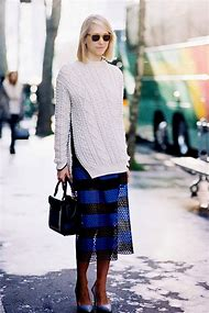 Fall Outfit with Sweater Skirt