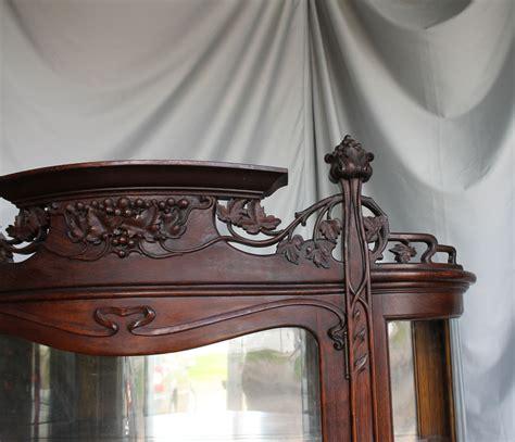 art nouveau china cabinet bargain john 39 s antiques blog archive oak china cabinet