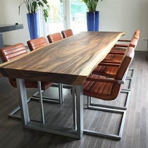 Table Bois Massif Contemporaine : table bois massif petite table de cuisine pas cher trendsetter ~ Teatrodelosmanantiales.com Idées de Décoration