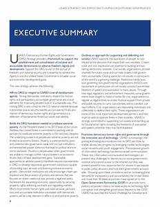 Usaid Strategy On Democracy Human Rights And Governance