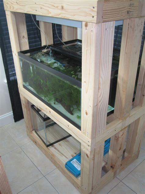 aquarium cabinet diy woodworking projects plans