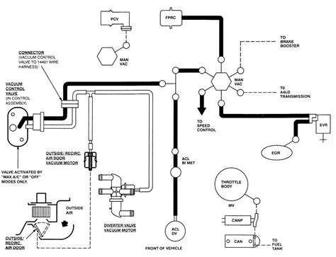 Need Find Vacuum Hose Diagram For Ford