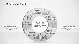 3d agile scrum artifacts powerpoint diagram slidemodel With agile artifacts templates