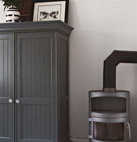 furniture  dark charcoal grey paint   wardrobe