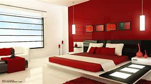 Red bedrooms for Black and red bedroom ideas