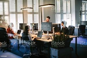 Business, People, Working, In, Modern, Office, Space, Stock, Photo, -, Download, Image, Now