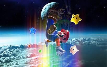 Mario Super Galaxy Desktop Nintendo Wii Games