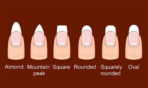 Different Ways To Shape Your Nails