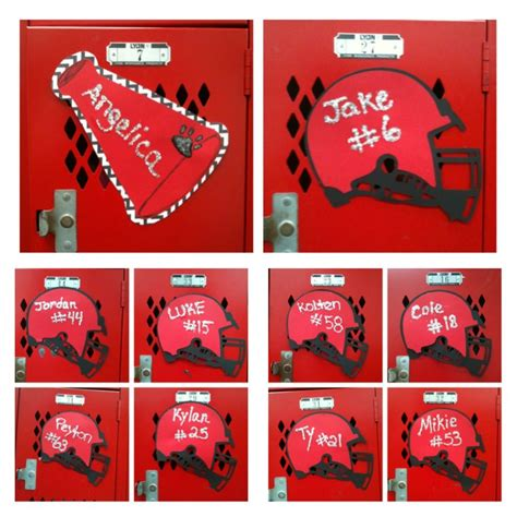 Redo Of Our 2nd Week Locker Decorations Because The Boys