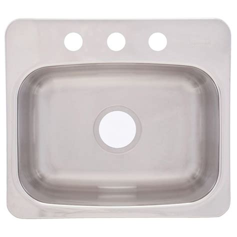 Franke Sink Mounting by Franke Dual Mount Stainless Steel 19x17x8 3 Single